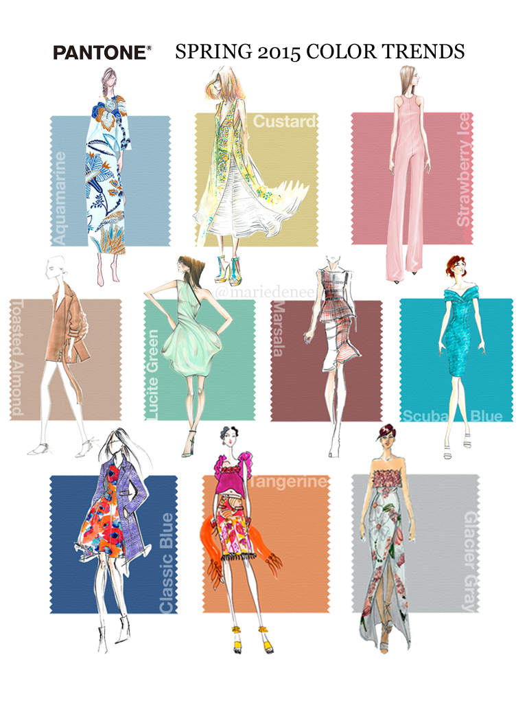 pantone s top colours for summer 2015 fusionswardrobe